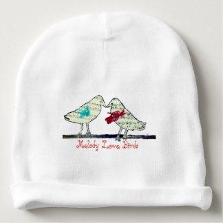 Gorro Para Bebê Pássaros do amor da melodia - chapéu do bebê
