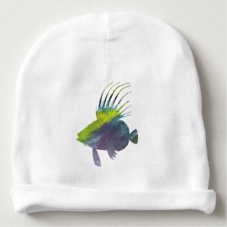 Gorro Para Bebê Peixes do Dory - arte colorida dos peixes