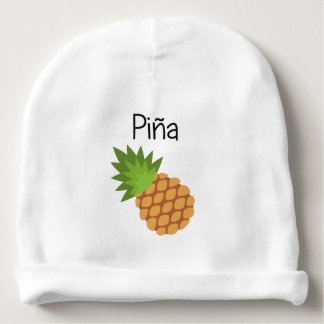 Gorro Para Bebê Pina (abacaxi)