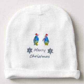 Gorro Para Bebê Pinguins do Natal