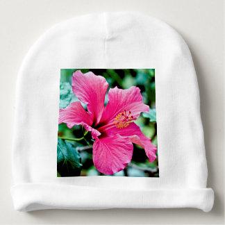 Gorro Para Bebê Pink hibisco