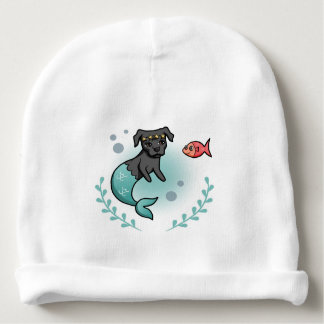 Gorro Para Bebê Pitbull da sereia
