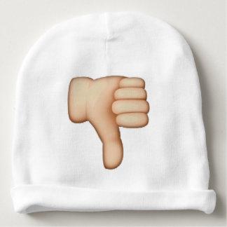 Gorro Para Bebê Polegares para baixo - Emoji