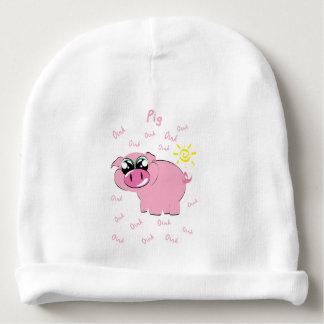 Gorro Para Bebê Porco