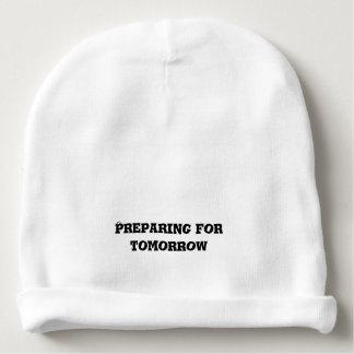 Gorro Para Bebê Preparação para o texto do amanhã
