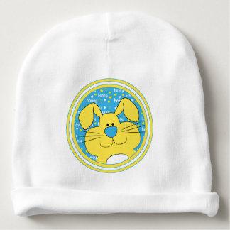 Gorro Para Bebê Presente do Beanie do bebê/coelho/azul/amarelo do