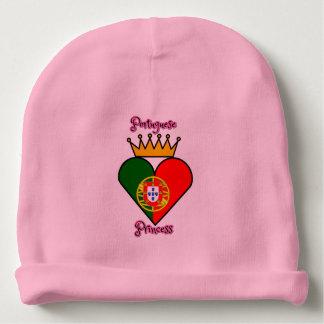 Gorro Para Bebê Princesa portuguesa Beanie