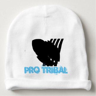 Gorro Para Bebê Pro Beanie tribal azul do algodão do bebê