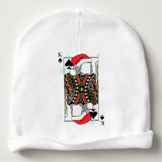 Gorro Para Bebê Rei do Feliz Natal das pás - adicione suas imagens
