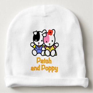 Gorro Para Bebê Remendo e papoila os filhotes de cachorro