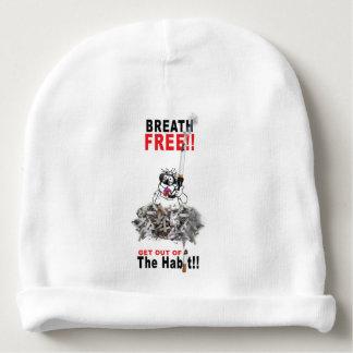 Gorro Para Bebê Respire livre - PARE DE FUMAR