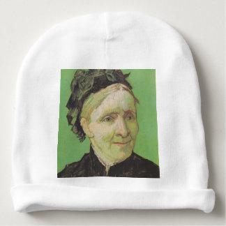 Gorro Para Bebê Retrato de Vincent van Gogh da arte da mãe do
