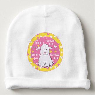Gorro Para Bebê Rosa/amarelo do presente do Beanie do bebê/torta