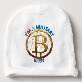 Gorro Para Bebê Roupa militar do bebê de Bitcoin
