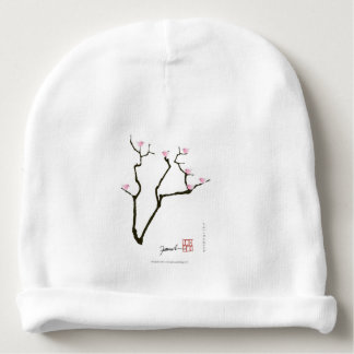 Gorro Para Bebê sakura e 7 pássaros cor-de-rosa 1, fernandes tony