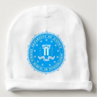 Gorro Para Bebê Selo do FBI no azul