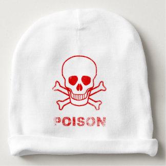 Gorro Para Bebê Selo vermelho da tinta do veneno
