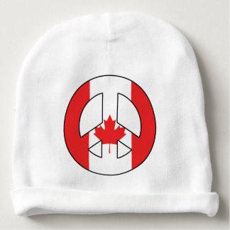 Gorro Para Bebê Sinal de paz canadense