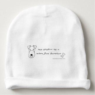 Gorro Para Bebê terrier de raposa do fio