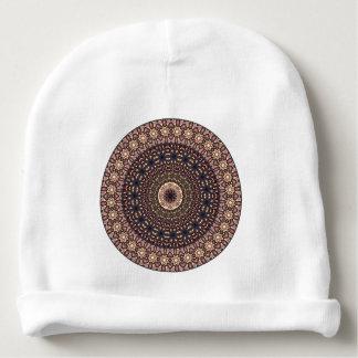 Gorro Para Bebê Teste padrão floral étnico abstrato colorido da