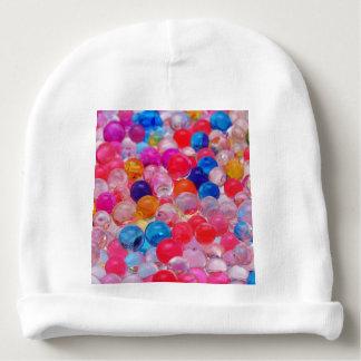 Gorro Para Bebê textura colorida das bolas da geléia