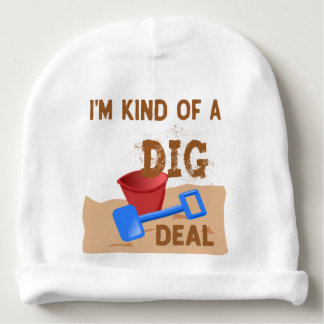 Gorro Para Bebê Tipo de I'm de um negócio da ESCAVAÇÃO