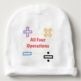 Gorro Para Bebê Todas as quatro operações