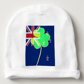 Gorro Para Bebê Trevo St Patrick do trevo da bandeira de Nova