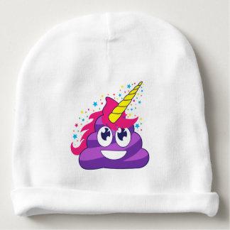 Gorro Para Bebê Unicórnio Emoji de Poopy