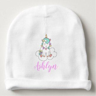 Gorro Para Bebê Unicórnio feliz mágico Mystical em um nome da
