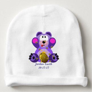 Gorro Para Bebê Urso de ursinho bonito do bebê