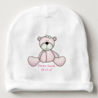 Gorro Para Bebê Urso de ursinho bonito do bebê do bebê