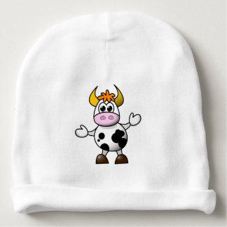 Gorro Para Bebê Vaca