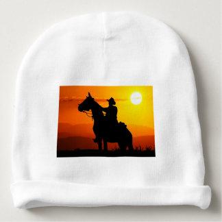 Gorro Para Bebê Vaqueiro-Vaqueiro-luz do sol-ocidental-país do por