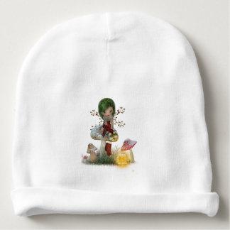 Gorro Para Bebê Verde do inverno