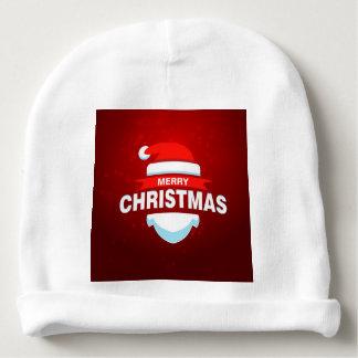 Gorro Para Bebê Vermelho bonito do Xmas do Feliz Natal de Papai