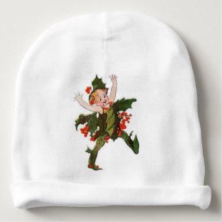 Gorro Para Bebê Vintage floral engraçado da criança de flor do