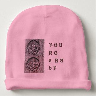 Gorro Para Bebê Você é chapéu Akimbo do motivo do bebê do dinheiro