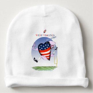 Gorro Para Bebê w fernandes tony altos e orgulhosos de Virgínia,