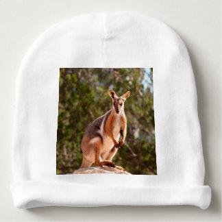 Gorro Para Bebê Wallaby de rocha amarelo-footed australiano
