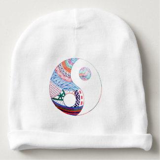 Gorro Para Bebê Yang ying colorido, espiritual