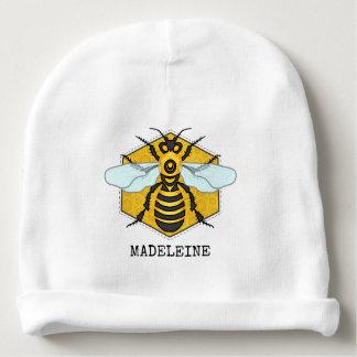 Gorro Para Bebê Zangão bonito do favo de mel da abelha