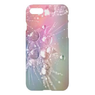 Gota Pastel abstrata do arco-íris da água Capa iPhone 7