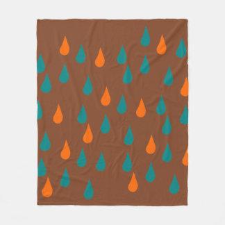 Gotas/cobertura do velo cobertor de velo