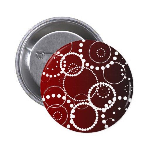 Gotas da água vermelha botons