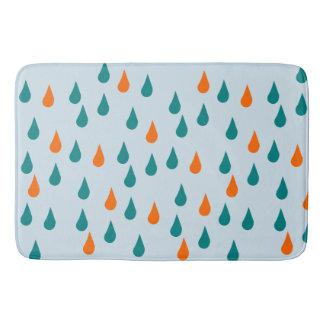 Gotas/grande esteira de banho feita sob encomenda tapete de banheiro