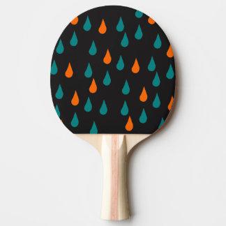 Gotas/pá Pong do sibilo Raquete De Ping-pong