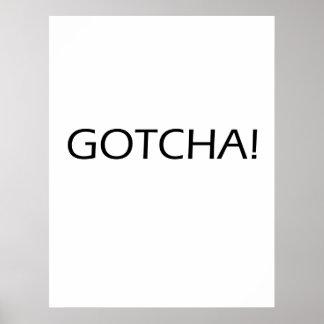 Gotcha! - Poster de Motavational