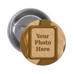 Gotejamentos - manteiga de amendoim do chocolate botons