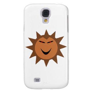 Gótico mau o Dia das Bruxas 3G de Kawaii do ouriço Capas Samsung Galaxy S4